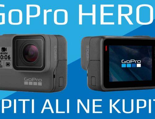 GoPro je naslov za akcijo. Vendar ali se izplača kupiti GoPro HERO6?