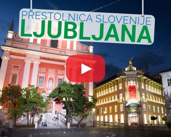 Time lapse hyper lapse Ljubljana