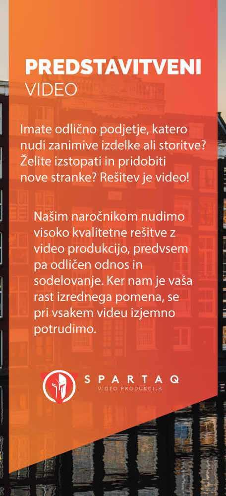 Predstavitveni video opis - Spartaq