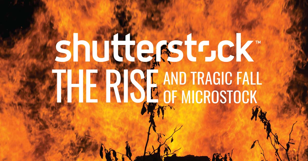 Shutterstock the rise and fall of microstock