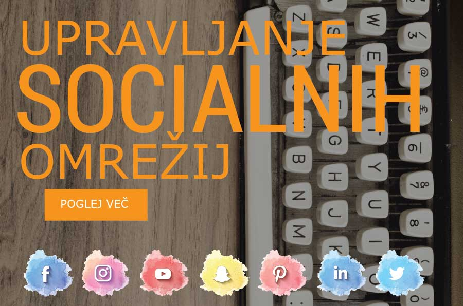 Upravljanje socialnih omrežij