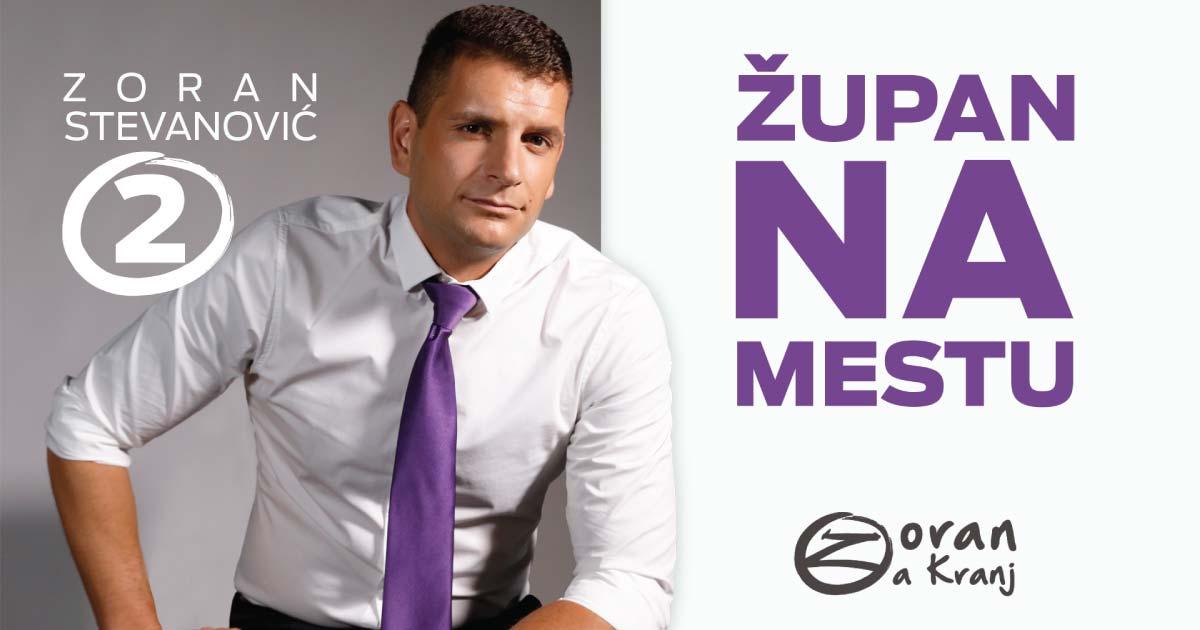 Zoran Stevanović kampanja
