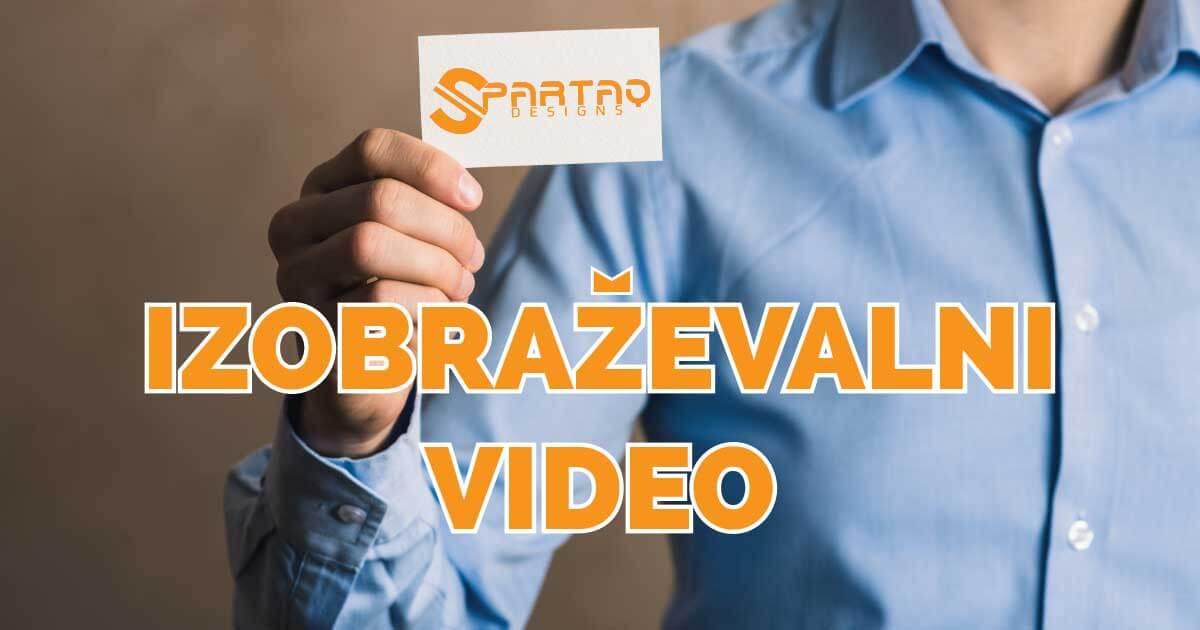 Izobraževalni video
