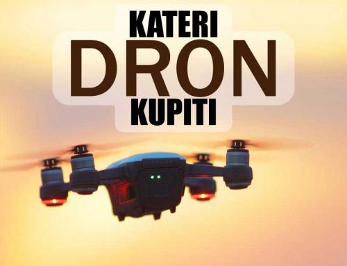Kateri dron kupiti